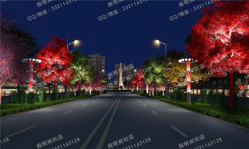 春节广场亮化