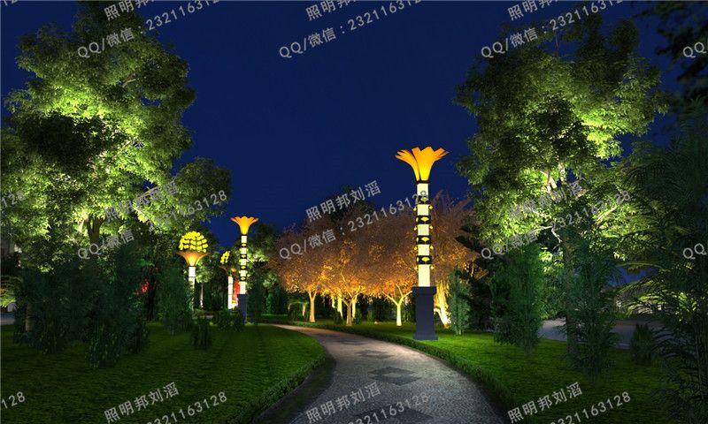 春节公园亮化